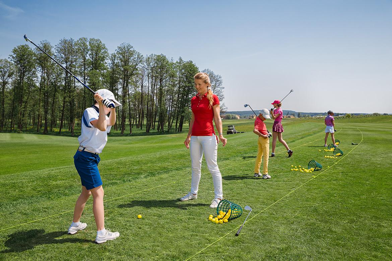 Golfclub Rheinhessen: Jugendtraining