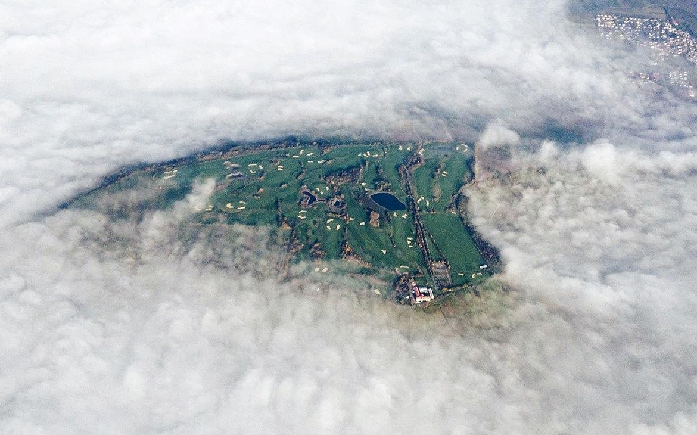 Golfclub Rheinhessen: Luftaufnahme