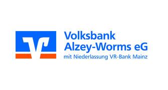 Golfclub Rheinhessen: Volksbank Alzey-Worms eG, Logo
