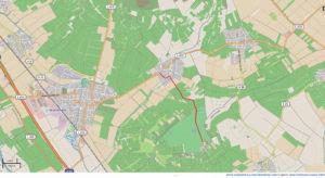 Golfclub Rheinhessen: Anfahrtsskizze (OpenStreetMap)
