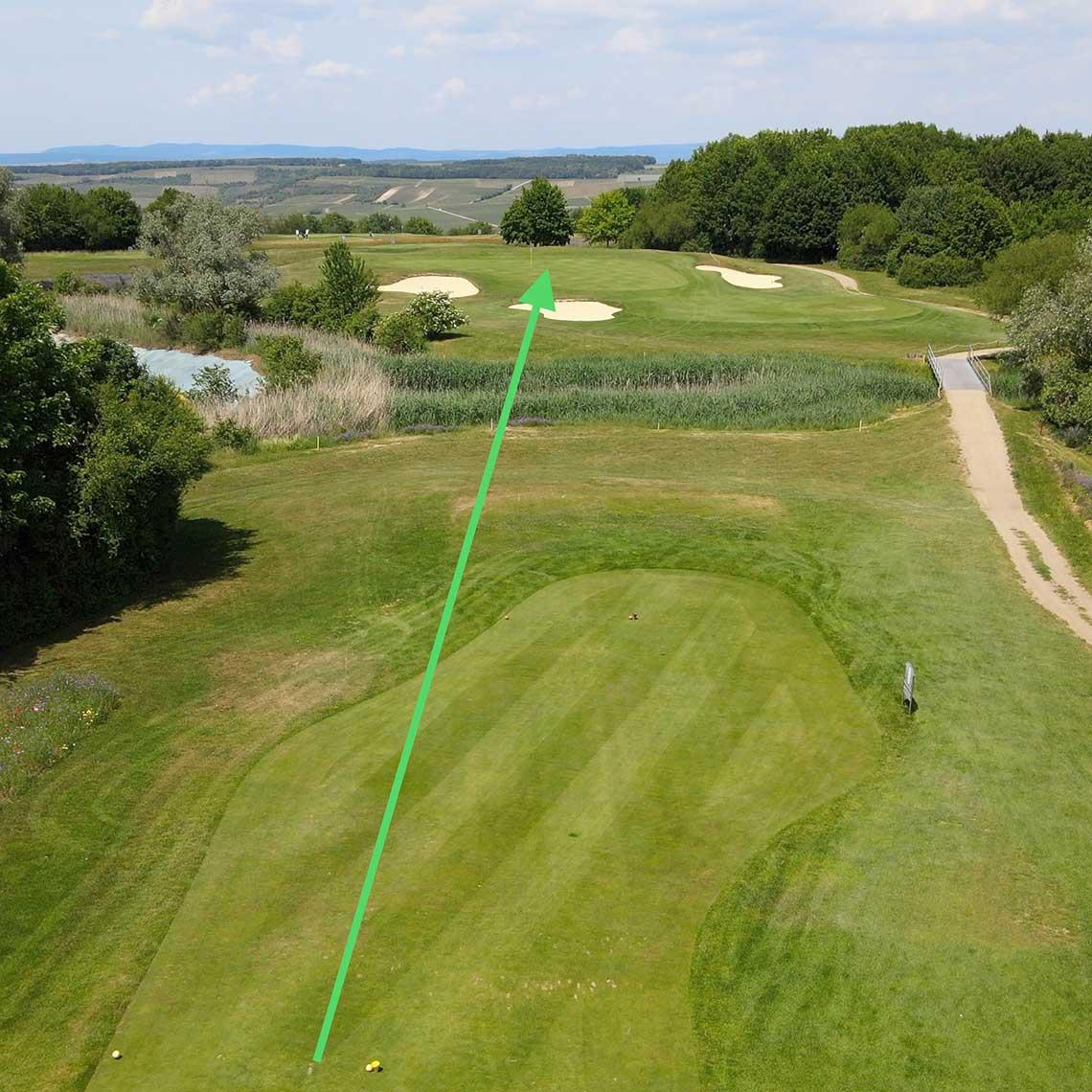 Golfclub Rheinhessen: Bahn 11