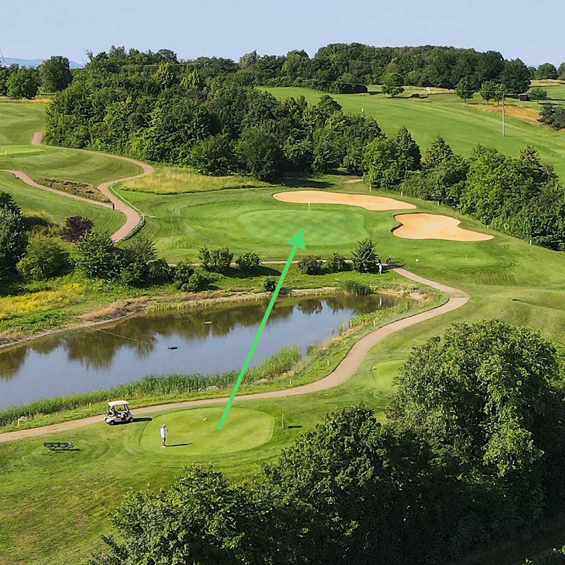 Golfclub Rheinhessen: Bahn 3