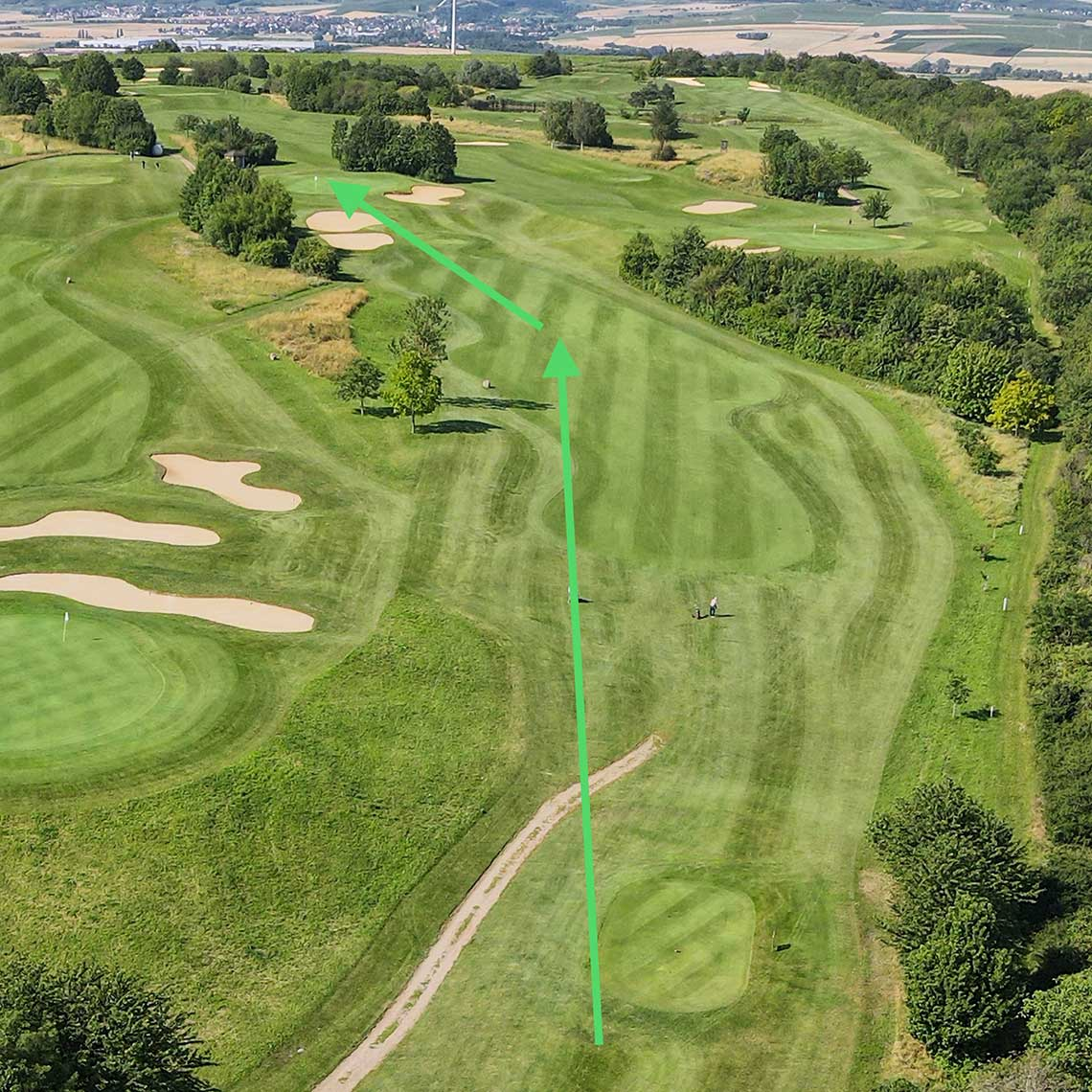 Golfclub Rheinhessen: Bahn 6