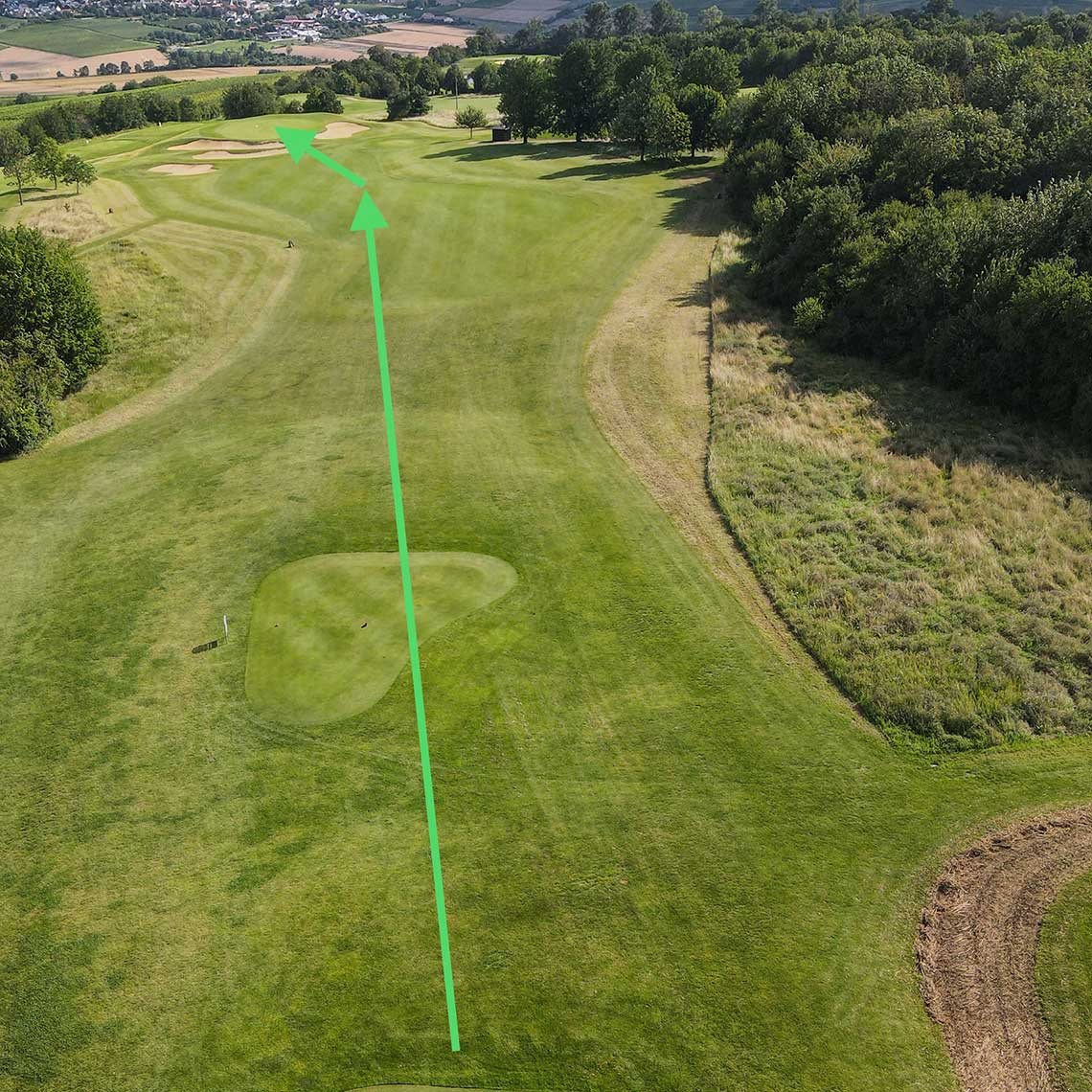 Golfclub Rheinhessen: Bahn 7