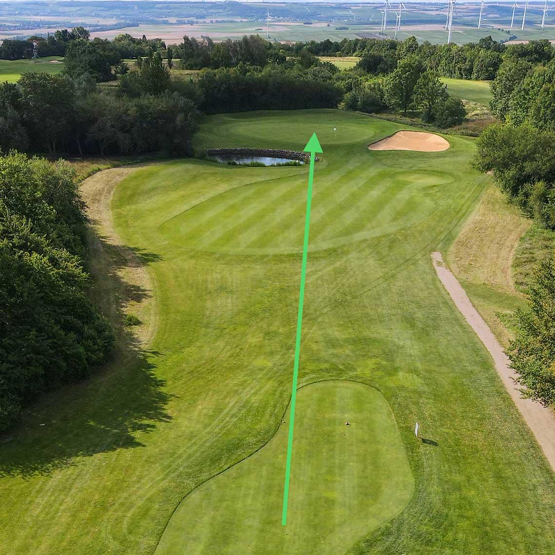 Golfclub Rheinhessen: Bahn 8