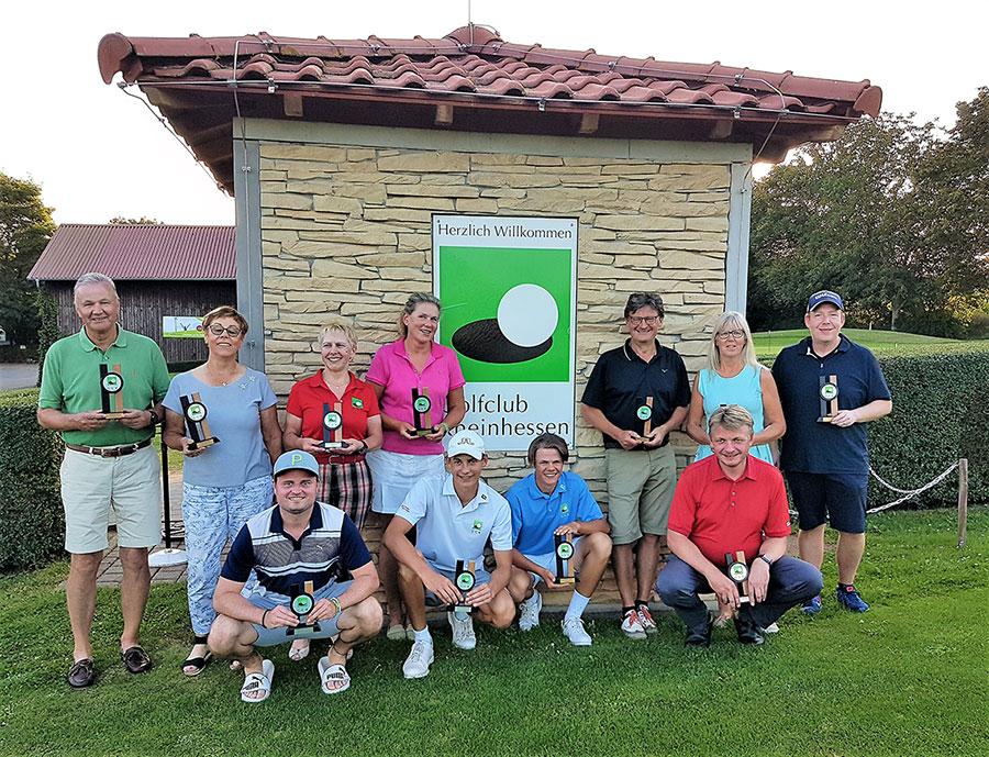 Golfclub Rheinhessen: Clubmeister & Clubmeisterinnen 2021